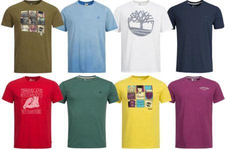 Timberland Herren Motiv T Shirts für je nur 14,39€