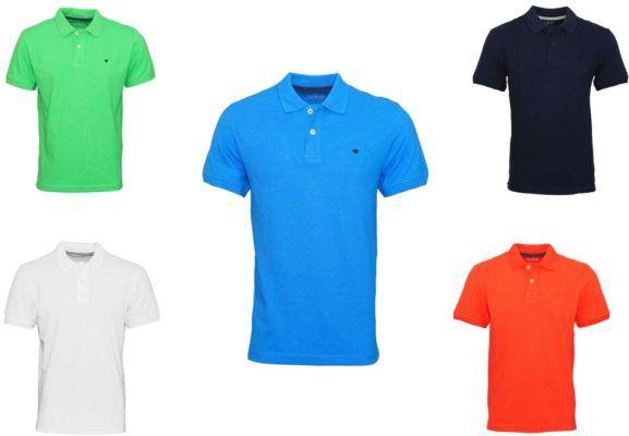 Tom Tailor Herren Polo Shirts   div. Farben für je 16,99€