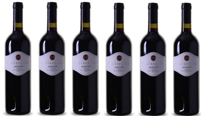 6 Flaschen Merlot delle Venezie IGT   Cortefresca (2016) für 28,89€ (statt 34€)