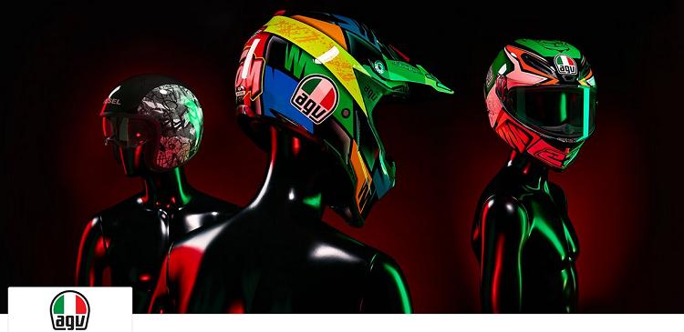 AGV Motorradhelme bei Vente Privee mit bis zu 61% Rabatt   z.B. AGV Corsa für 345,50€ (statt 529€)
