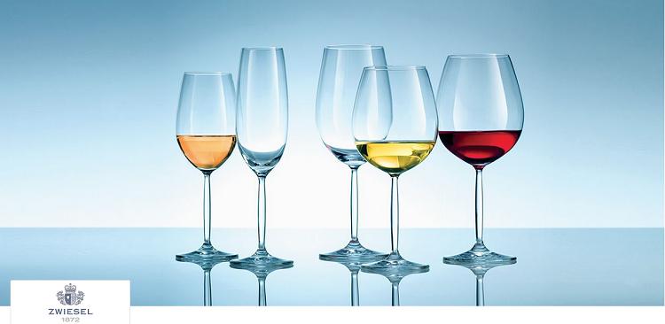 Zwiesel bei Vente Privee mit bis zu 68% Rabatt auf Vasen und Geschirr   z.B. 6er Gläsersets für 15,90€