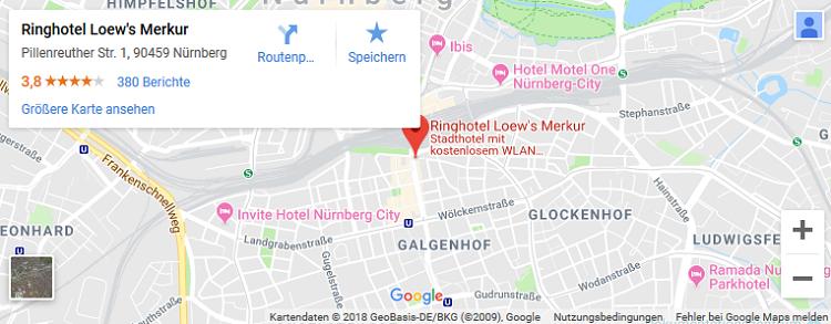 1   3 ÜN in Nürnberg inkl. Frühstück, Wellness & mehr (Kind bis 15 Jahre kostenlos) ab 62,50€ p.P.