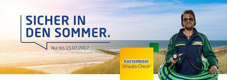 Kostenloser Urlaubs Check bei Euromaster