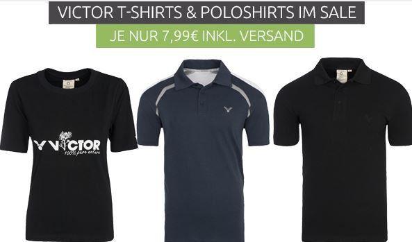 VICTOR Team Polos Shirts   Restgrößen statt 27,99€ für nur 7,99€