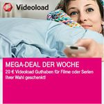 Nur für Telekom-Kunden: 20€ Videoload Guthaben geschenkt