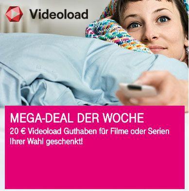 Nur für Telekom Kunden: 20€ Videoload Guthaben geschenkt