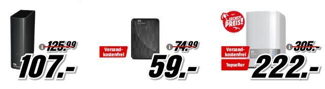 Media Markt WD Tiefpreisspätschicht   günstige externe Festplattten und NAS