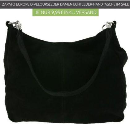 Zapato Euro D   Damen echt Leder Handtasche statt 28€e für nur 9,99€