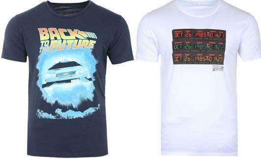 Zurück in die Zukunft   Herren Motiv T Shirts für je nur 7,99€