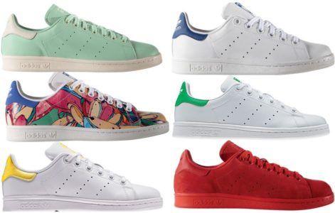 adidas Originals Stan Smith Damen Sneaker in 11 Farben statt 65€ für 47,90€