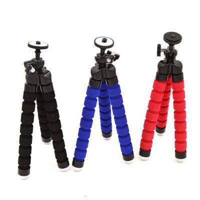 Kleines Stativ für Kamera und Smartphones in 3 Farben für je 1,40€