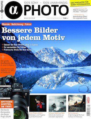 2 Ausgaben Alpha Photo für 14,95€ + 10€ ShoppingBON Gutschein