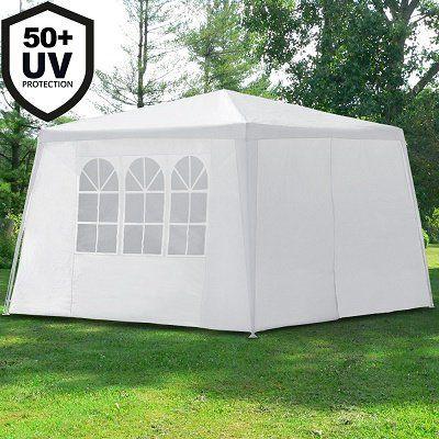 Pavillon 3x3 m inkl. Seitenwände für 29,71€ (statt 35€)
