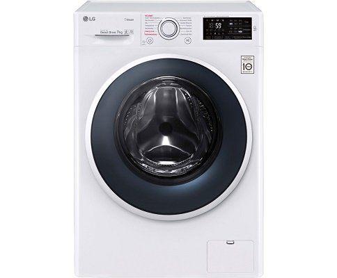 LG F 14WM 7TS1   Waschmaschine mit 7 kg Nutzinhalt, 1400 U/Min für 399€ (statt 569€)