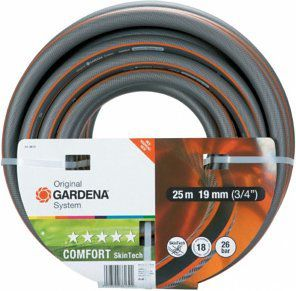 Gardena Comfort SkinTech Schlauch (19mm, 3/4, 25m) für 24,94€ (statt 47€)