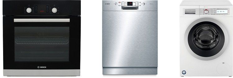 Bosch Spartage für Haushaltsgeräte + keine VSK   z.B. Bosch Waschmaschine für 589€ (statt 690€)