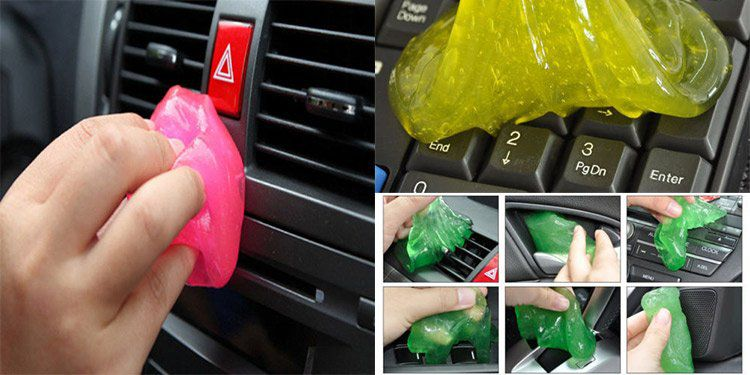 Reinigungsknete für Tastatur, Auto, Handy, Spielzeug etc. für 0,88€