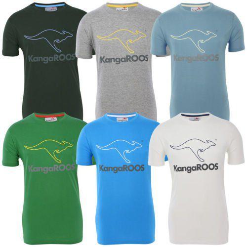 KangaROOS T Shirts großem Logoprint Restgrößen für je 6,99€ (statt 15€)