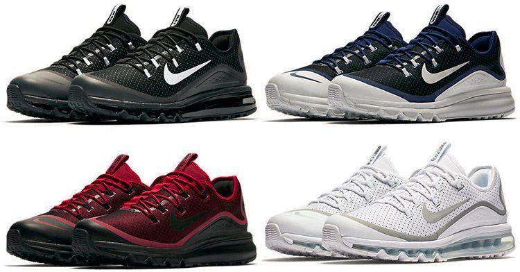 Nike Air Max More Sneaker in versch. Farben für je 94,48€ (statt 126€)