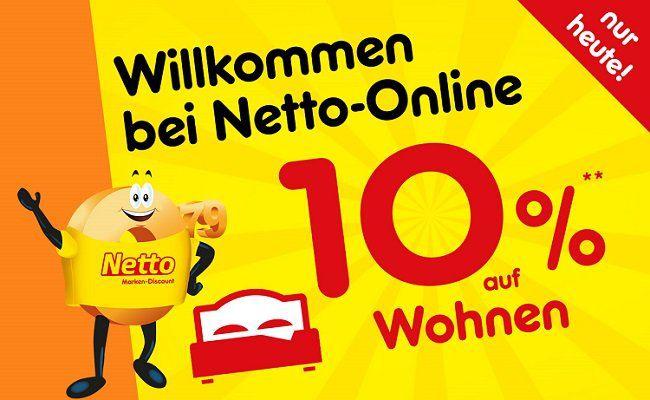 Netto Online mit 10% Rabatt auf Kategorie Haushalt & Wohnen   z.B.  Home Deluxe Duschkabine White Pearl 100 x 100 cm für 658,79€ (statt 710€)