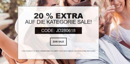 Jeans Direct mit 20% extra Rabatt ab 40€ auf den 60% Sale   günstige Jeans & Co.
