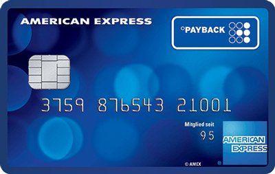 Payback American Express Kreditkarte dauerhaft kostenlos + 4.000 Punkte (40€)   TOP!