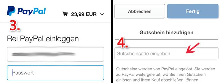 eBay Gutscheine per Smartphone einlösen