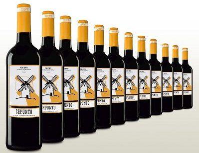 12 Fl. Rotwein   Cepunto Tinto Tempranillo für 34,80€