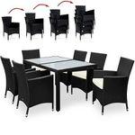 13-teilige Polyrattan Sitzgruppe für 271,96€ (statt 360€)