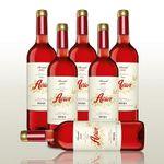 6 Flaschen Rosé – Avior Rosado (2016) für 31,92€ (statt 48€)