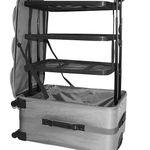 XL Koffer mit 60L und versenkbarem Regalsystem für 39,99€ (statt 50€)