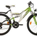 "Kinderfahrrad Mountainbike Fully ""Zodiac"" – 24″, 18 Gänge für 158,80€ (statt 185€)"