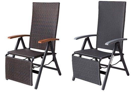 Summer Casual Geflecht Relax Sessel für 42,46€ (statt 78€)