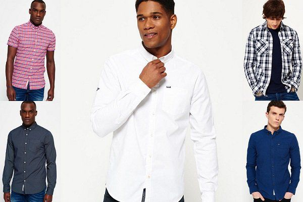 Damen und Herren Superdry Hemden für je 26,95€