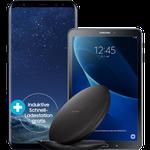 Samsung Galaxy S8 + Tab A 10.1 LTE + Wireless Charger für 1€ + Magenta Mobil M  mit 3GB LTE für 53,74€ mtl.