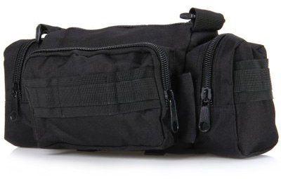 TANTUQI 5L Schultertasche/Gürteltasche in schwarz für 8,89€