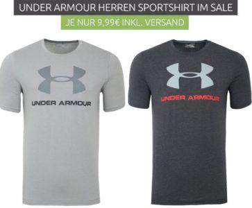 Under Armour Sale mit T Shirts, Taschen und Fussballschuhen ab 9,99€