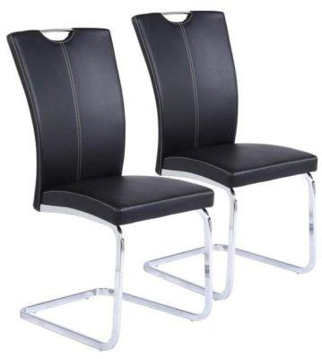 XORA Doppelpack Edelstahlschwingstühle für nur 63,85€