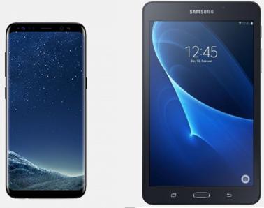 Samsung Galaxy S8 + Galaxy Tab A 7.0 für 1€ + Vodafone Allnet Flat mit 2GB LTE für 39,99€ mtl.