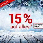 15% Gutschein bei Weltbild – z.B. tolino vision 4 HD für 135,15€