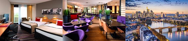 1 2 Nächte im 4* Hotel in Frankfurt + ZDF Fernsehgarten ab 49€ p.P.