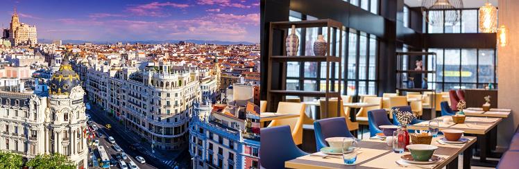 2 3 ÜN im zentralen 3* Hotel in Madrid inkl. Frühstück und Flügen ab 169€ p.P.