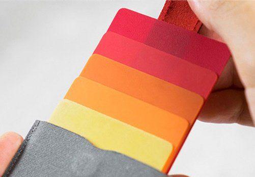 Kreditkarten Etui aus Leinen in verschiedenen Farben für 6,22€