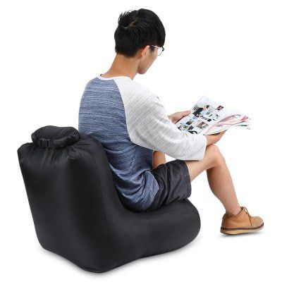 CTSmart DL1620   Aufblasbarer und transportierbarer Sitzsack für 8,80€