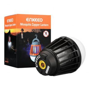 Enkeeo 2 in 1 Campinglampe & Insektenfalle für 12,33€