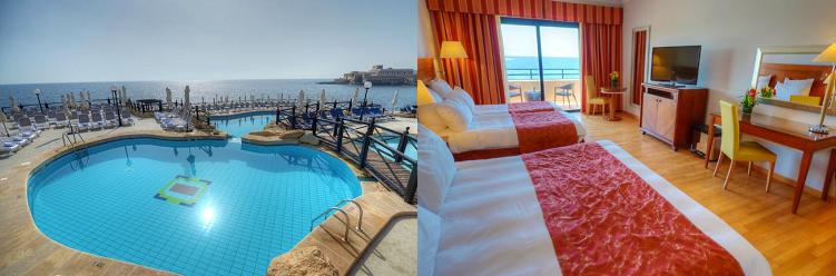 4, 7 o. 10 ÜN im 5* Hotel auf Malta inkl. Flüge, Frühstück, Halbpension oder Vollpension, Sauna, Fitness und Transfer ab 259€ p.P.