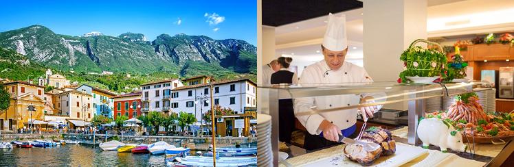 3, 4 o. 7 ÜN im 4* Hotel am Gardasee inkl. Halbpension Plus + Eintritt zur einer Aktivität ab 179€ p. P.