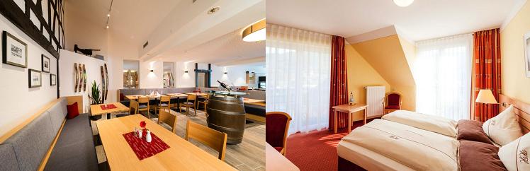 2   4 ÜN im 3* Hotel an der Mosel inkl. Frühstück, Dinner, Weinprobe, Lunchpaket und Spa ab 109€ p.P.