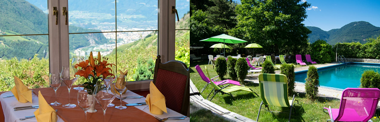 3, 4, 5 o. 7 ÜN im 3* Hotel in Südtirol inkl. Halbpension, Willkommensgetränk, Pool  und Saunanutzung ab 139€ p.P.