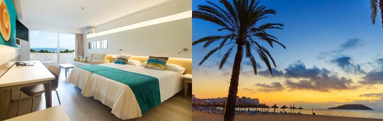 7 oder 14 ÜN auf Mallorca inkl. Halbpension oder All Inclusive Verpflegung, Poolnutzung und Flügen ab 429€ p. P.